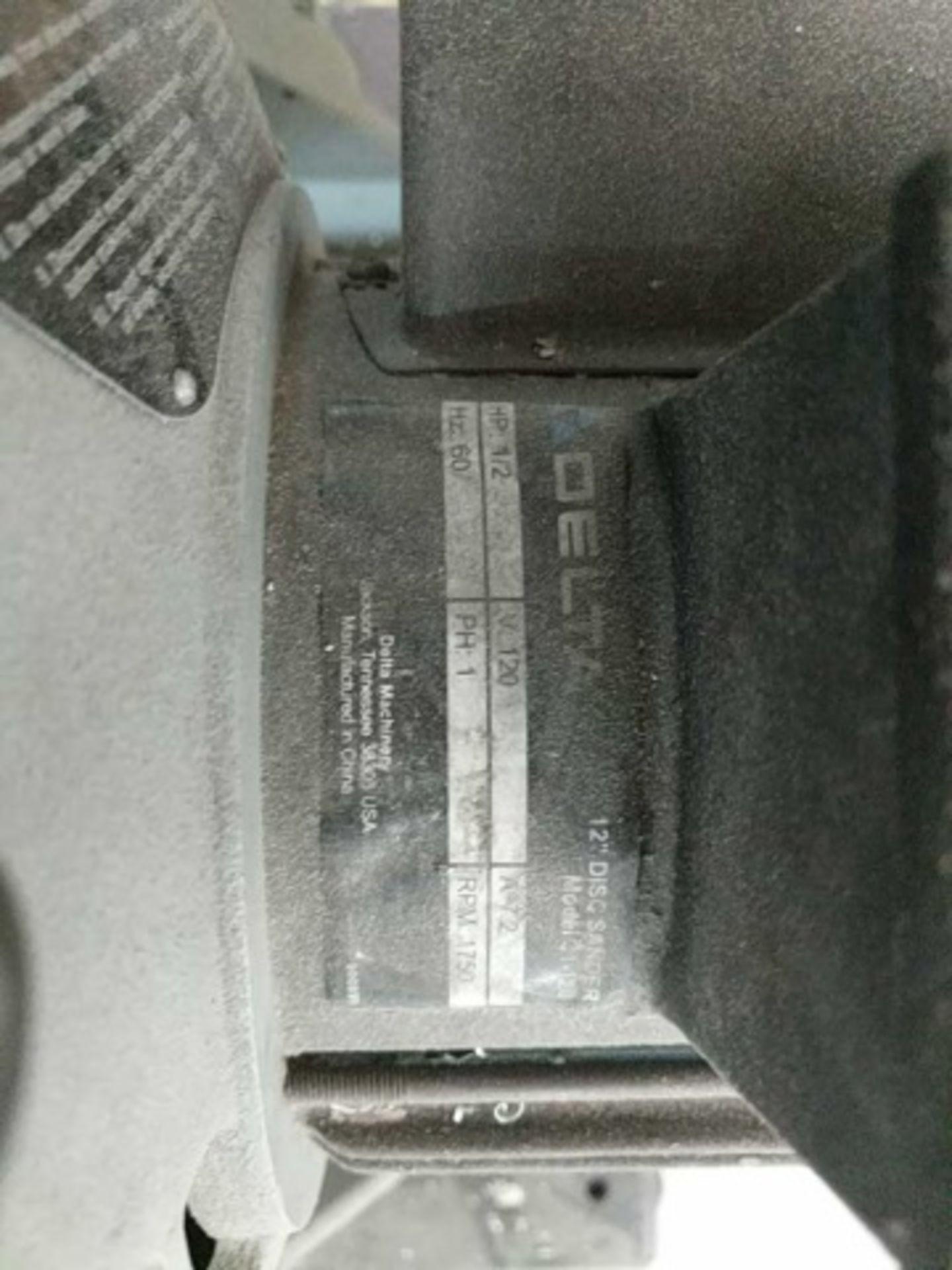 Delta 31-120 Disc Sander - Image 4 of 4
