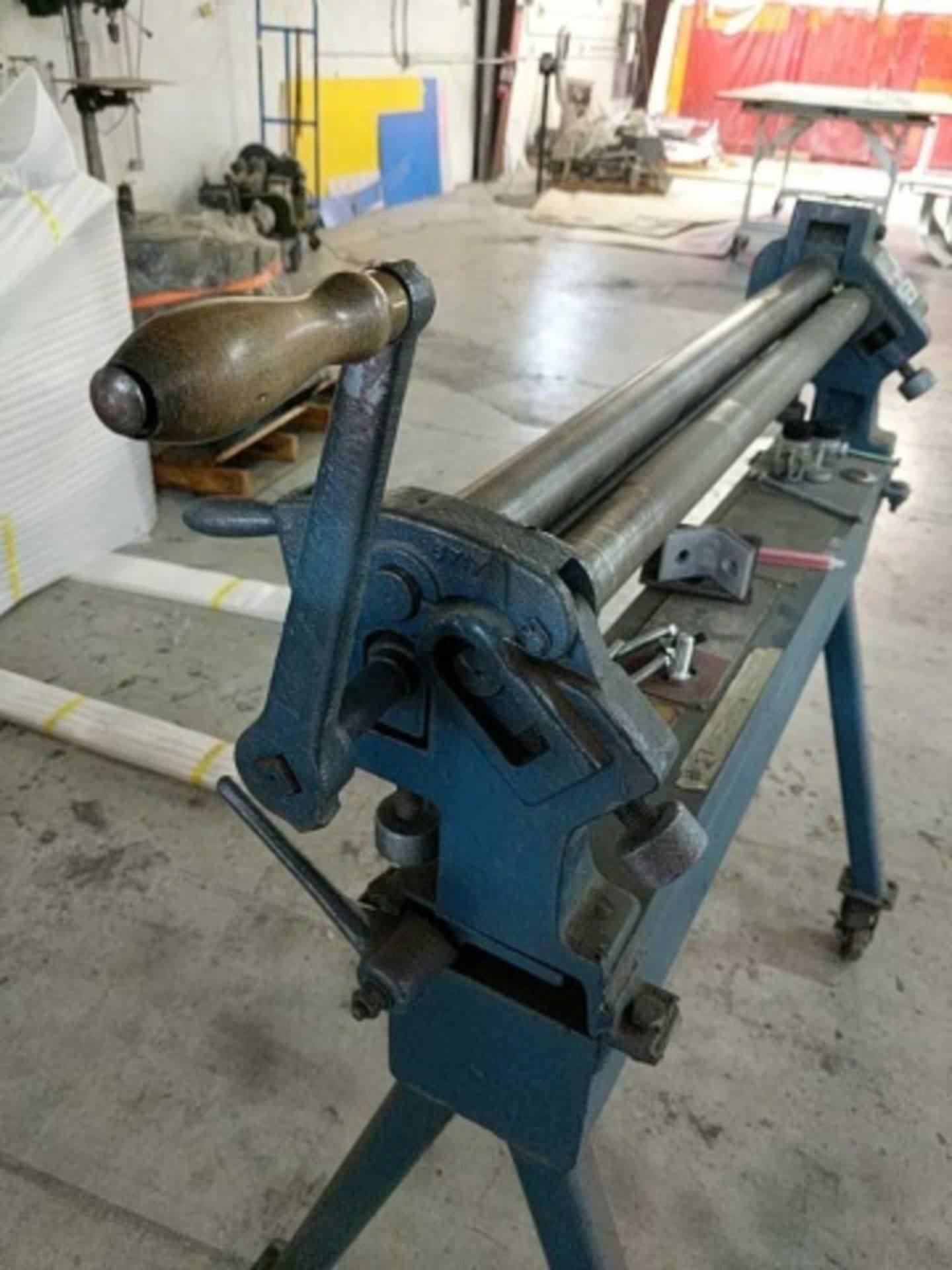 Pexto 381-D Bench Slip Roll Machine - Image 4 of 4