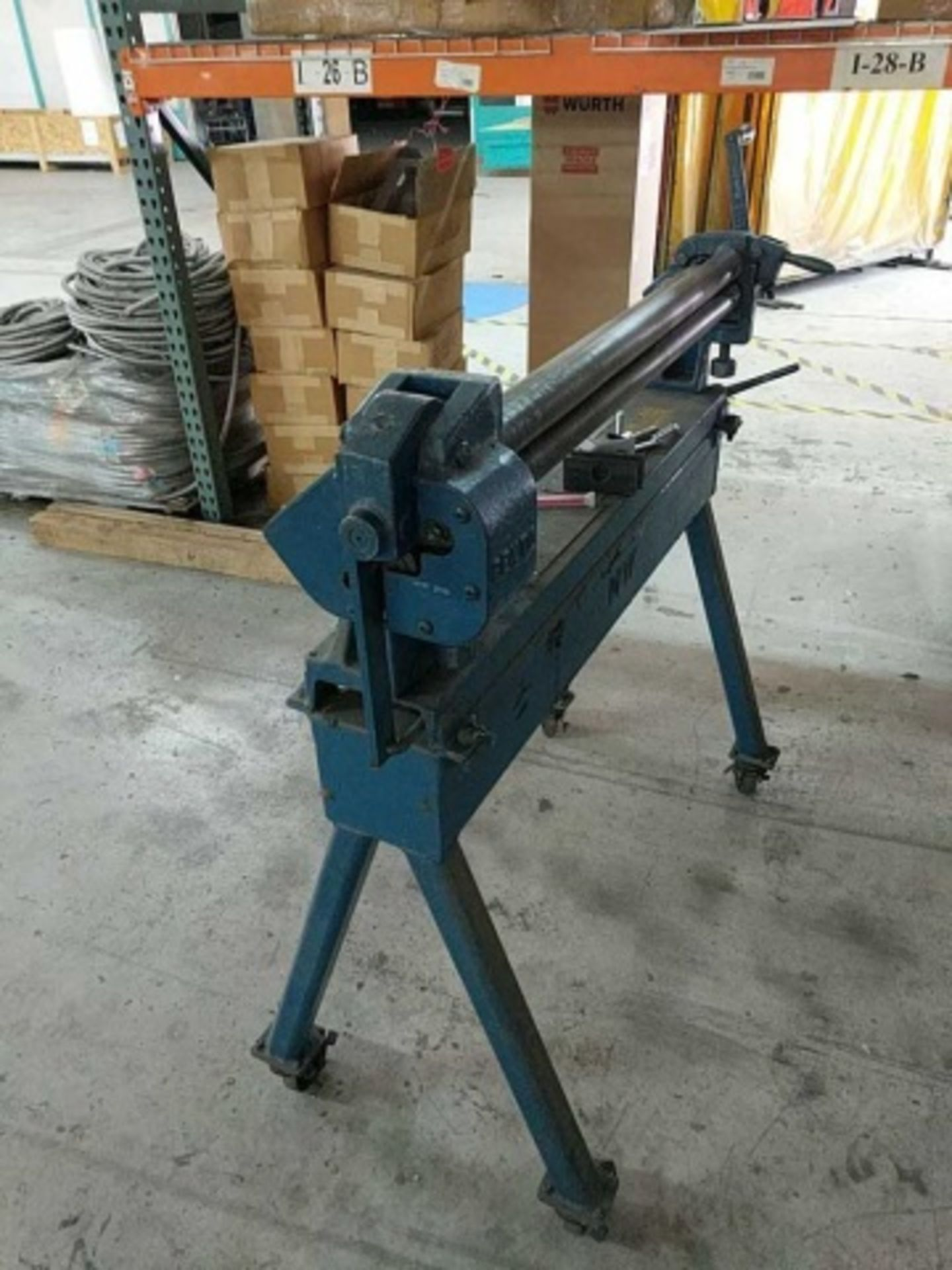 Pexto 381-D Bench Slip Roll Machine - Image 3 of 4