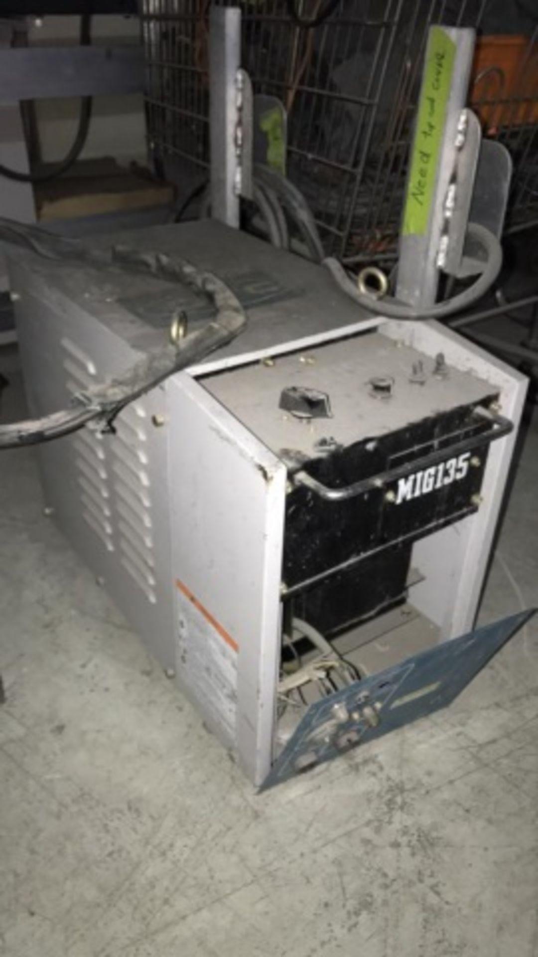 Daihen OTC Mig135 model CPSS-135 DC Power Source - Image 2 of 2