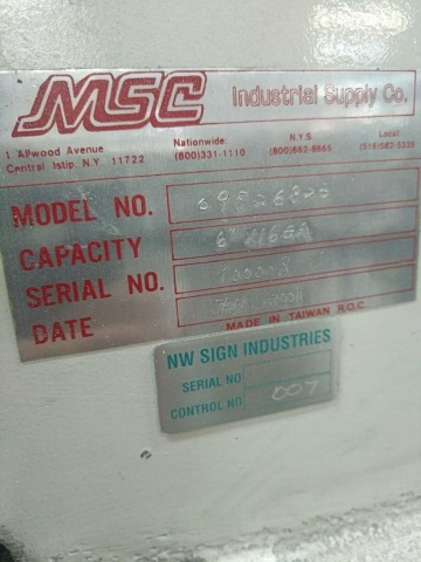 Lot 118a - MSC Corner Notcher - 09526823