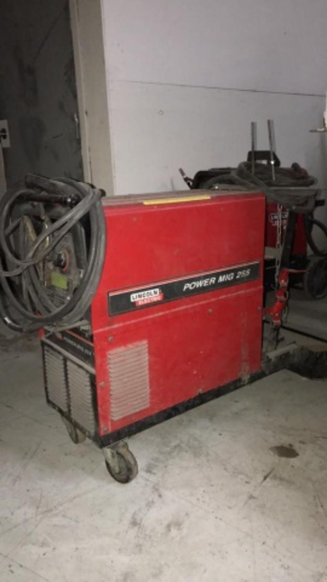 Lincoln Power Mig 255 MIG Welder - Image 2 of 2