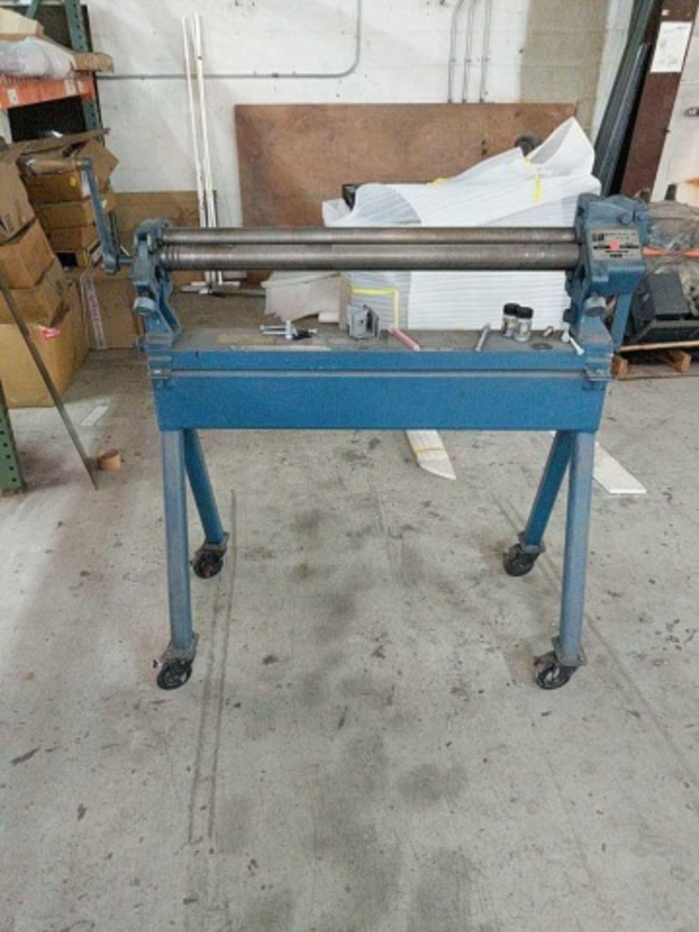 Pexto 381-D Bench Slip Roll Machine
