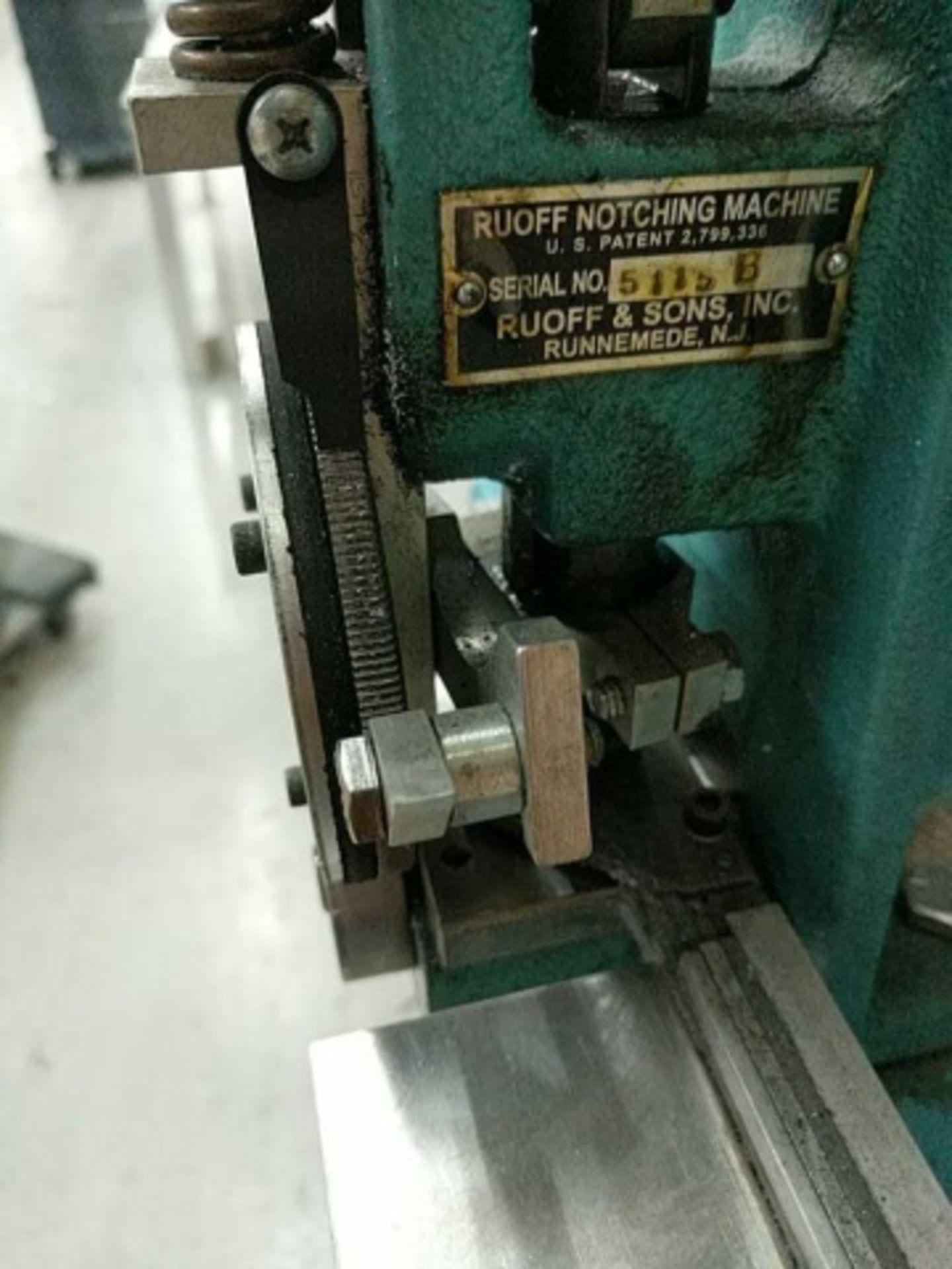 Ruoff Notching Machine - Image 4 of 6