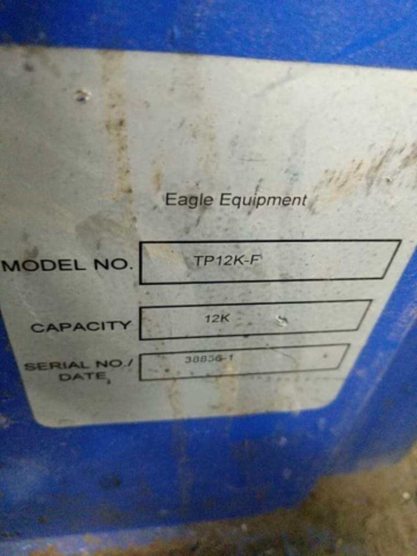 Eagle TP12K-F Automotive Lift - Image 4 of 7