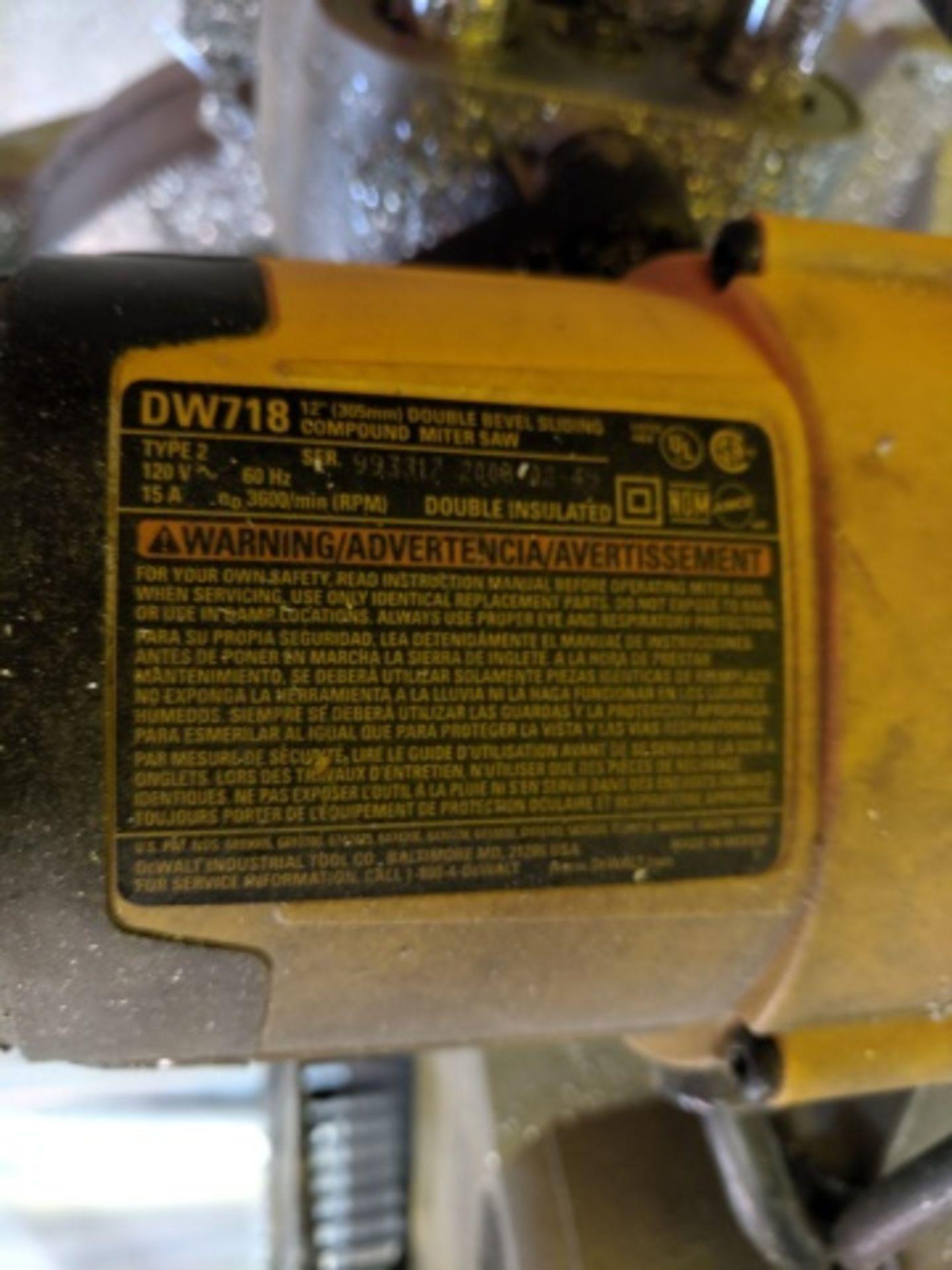 Dewalt DW718 Miter Saw - Image 3 of 3