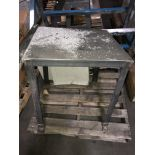Steel Work Table and Steel Stand