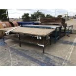 Lot of Misc. Steel & Wood Tables