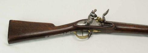 Tulle Dragoner Steinschlossgewehr mit Bajonett Frankreich, 18151. französisches Kaiserreich,