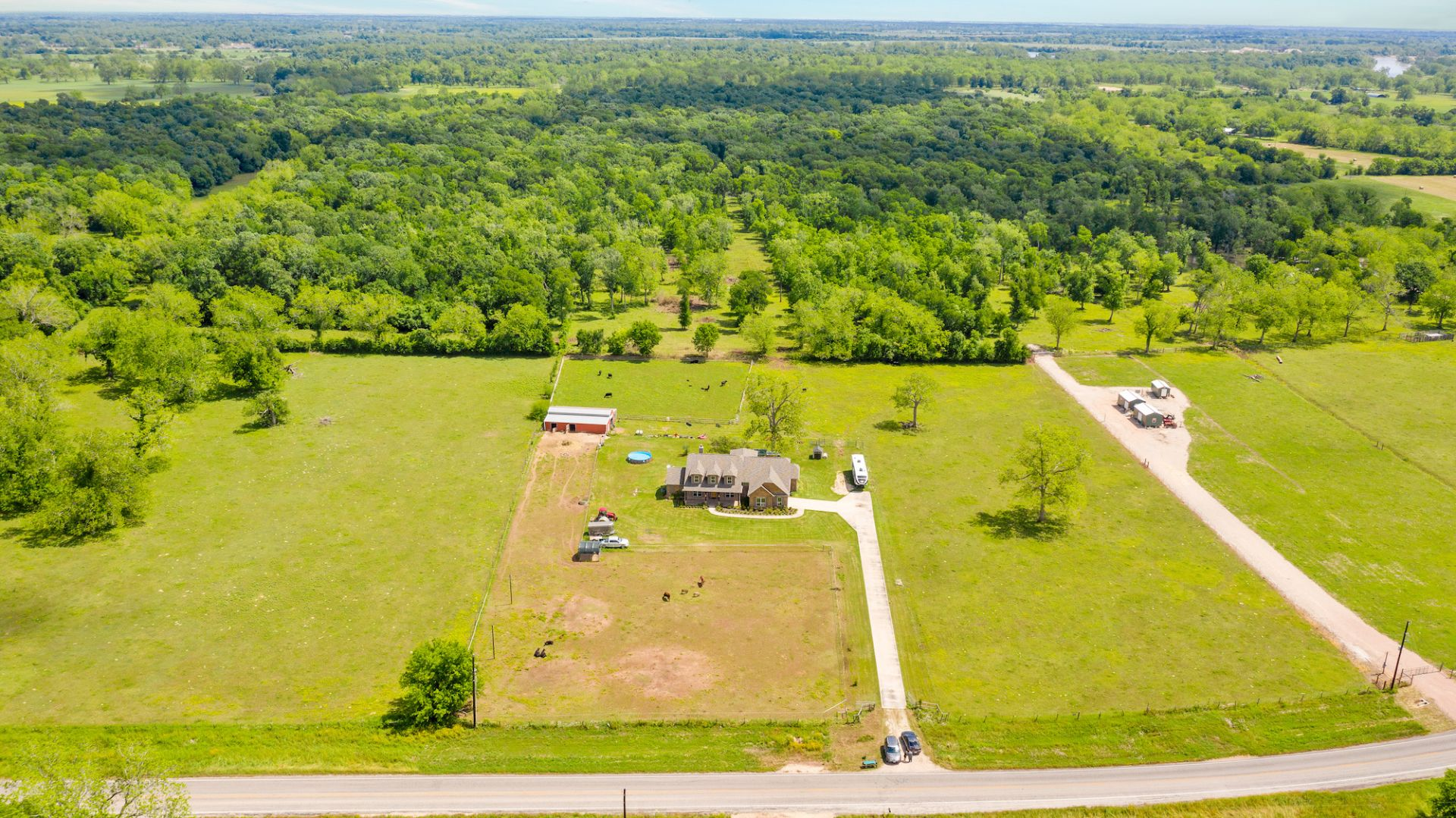 Lot 8 - Custom Country Home with Acreage in Sealy