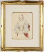 Moritz Michael Daffinger - připsáno (1790-1849)<b