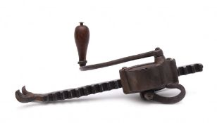 A crossbow cranequin