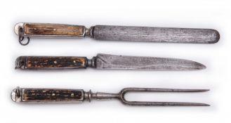 Three-piece hunting set