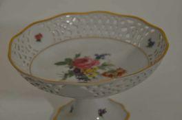 """Obstschale,""""Arabella"""", Bavaria, Blumendekor, Höhe 11 cm, Dm 19 cm"""