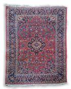 KeshanWolle auf Baumwolle, 150 cm x 104 cmDieses Los wird in einer online-Auktion ohne Publikum