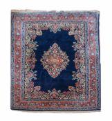SaroughWolle auf Wolle, 306 cm x 224 cm, Fransen auf einer Seite kürzerDieses Los wird in einer