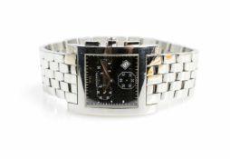Longines DolceVita Chronograph DateQuarz, Kaliber 538, Gehäuse Edelstahl, Durchmesser 30 mm, Armband