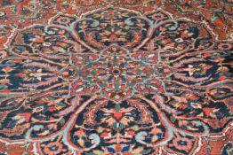 ArakWolle auf Wolle, 392 cm x 297 cmDieses Los wird in einer online-Auktion ohne Publikum