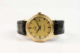 Zodiac Kingline 36000 Chronometer DateAutomatik, Gehäuse Stahl, vergoldet, Durchmesser 33 mm,