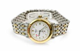 Chopard 1000 MigliaQuarz, Gehäuse Stahl und Gelbgold, Durchmesser 36 mm, Armband Stahl und Gelbgold,