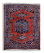 OrientteppichWolle auf Baumwolle, 321 cm x 220 cm, partiell kleinere FleckenDieses Los wird in einer