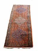 BidjarIran, Wolle auf Wolle, 281 cm x 94 cm, reinigungsbedürftigDieses Los wird in einer online-