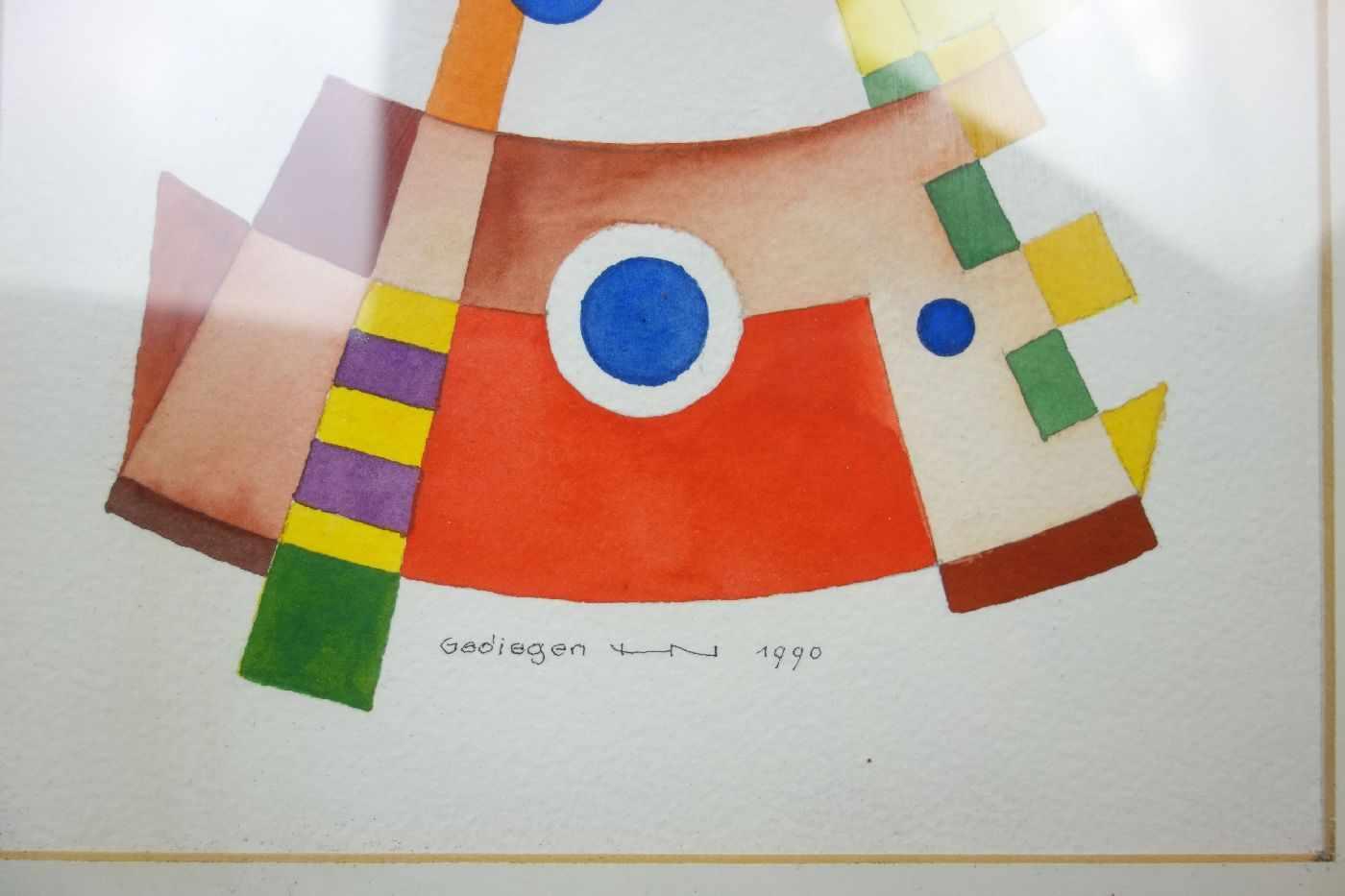 Lot 5 - NEUY, HEINRICH (Kevelaer 1911-2003 Steinfurt-Borghorst), Aquarell über Bleistift auf Bütten /