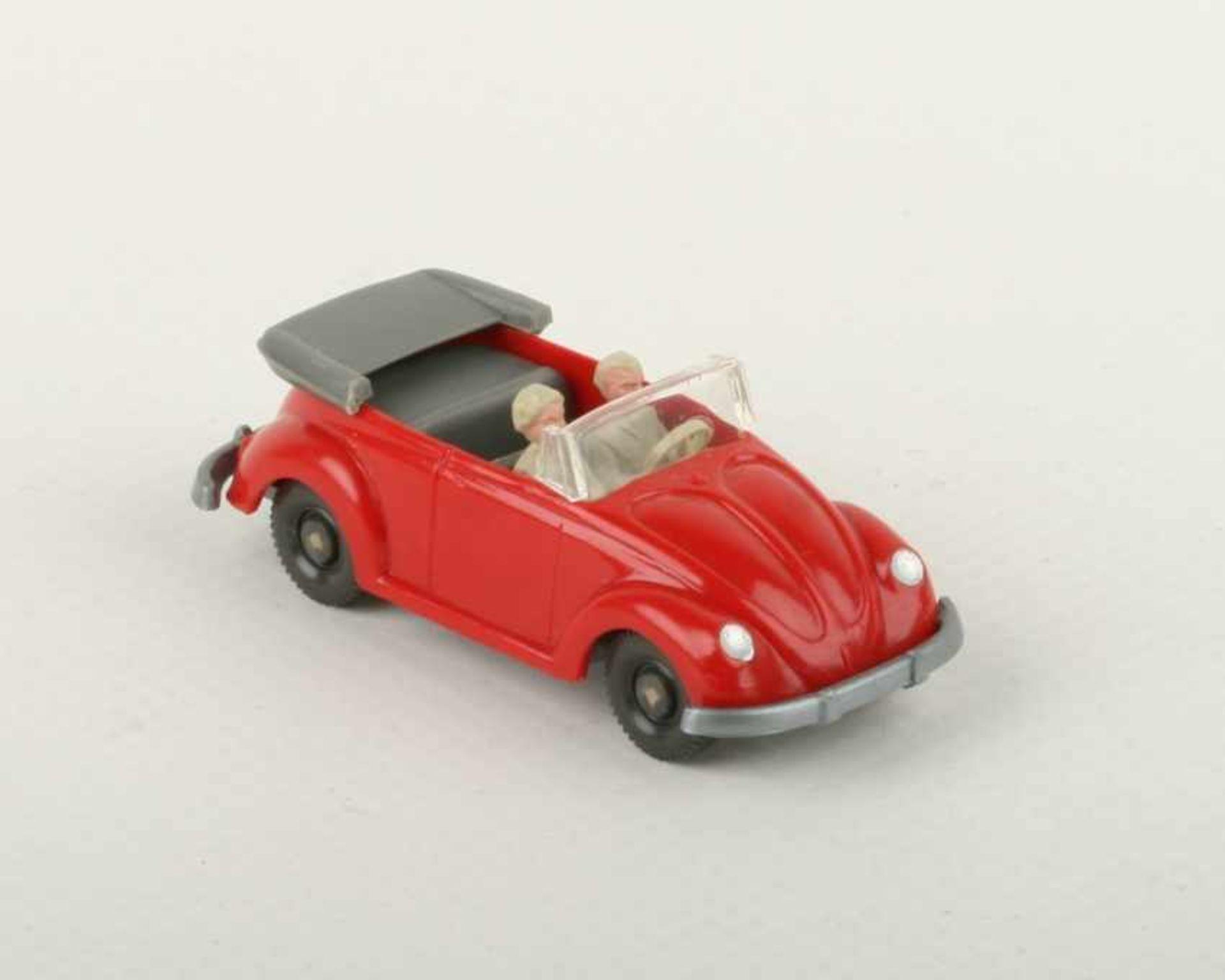 Los 1040 - WikingVW Käfer Cabrio rot33/7f, IE staubgrau, neuwertig