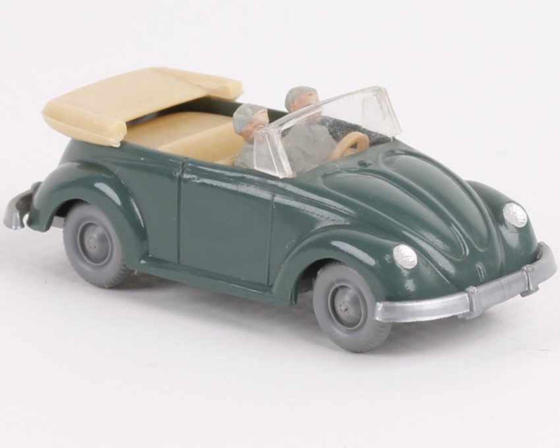 Los 1004 - WikingVW Käfer Cabrio h'patinagrün33/6x, IE h'beige, neuwertig