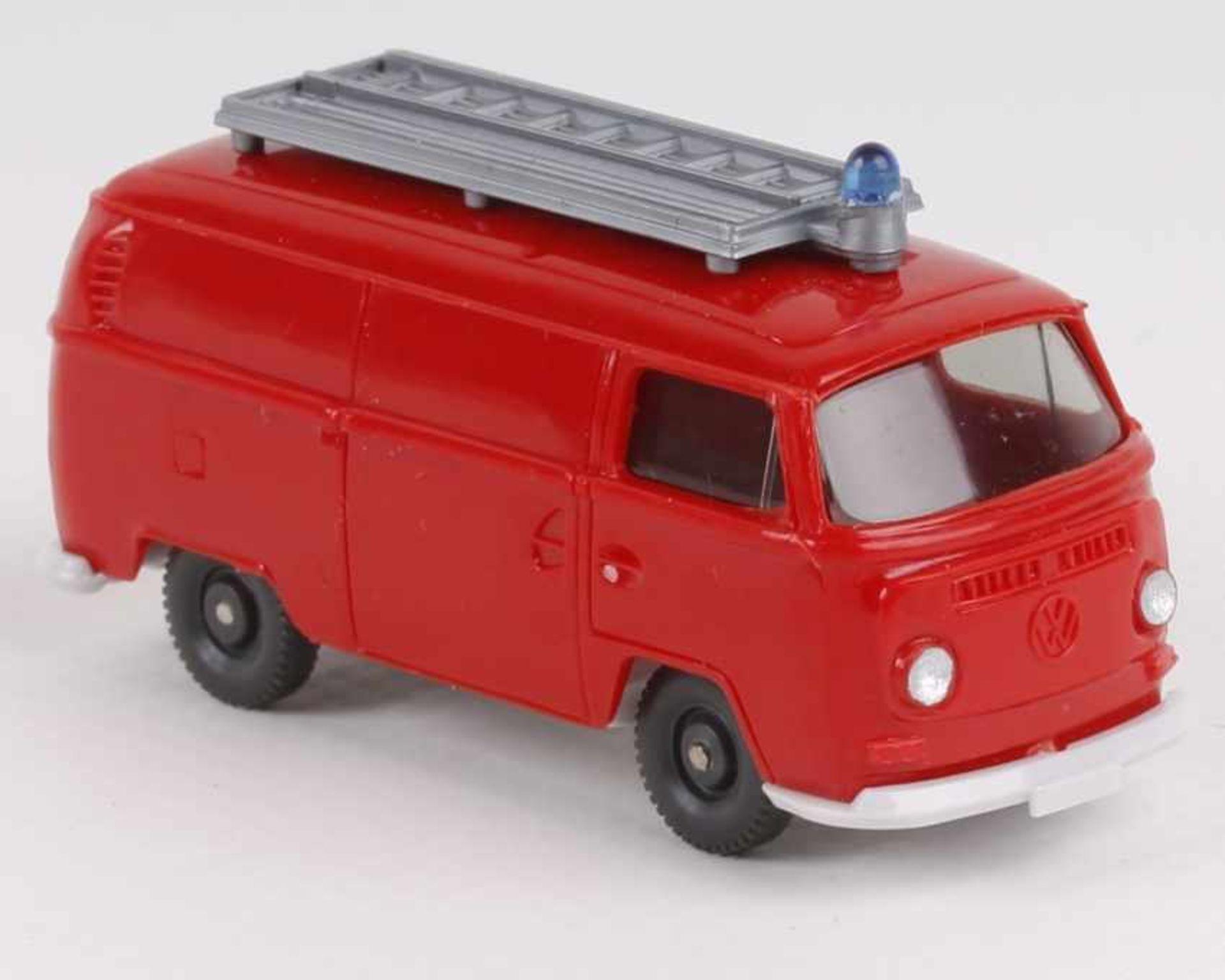 WikingVW T2 Feuerwehr orangerot603/8a, neuwertig
