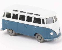 WikingVW Samba Bus papyrusweiß/ozeanblau317/2b, neuwertig