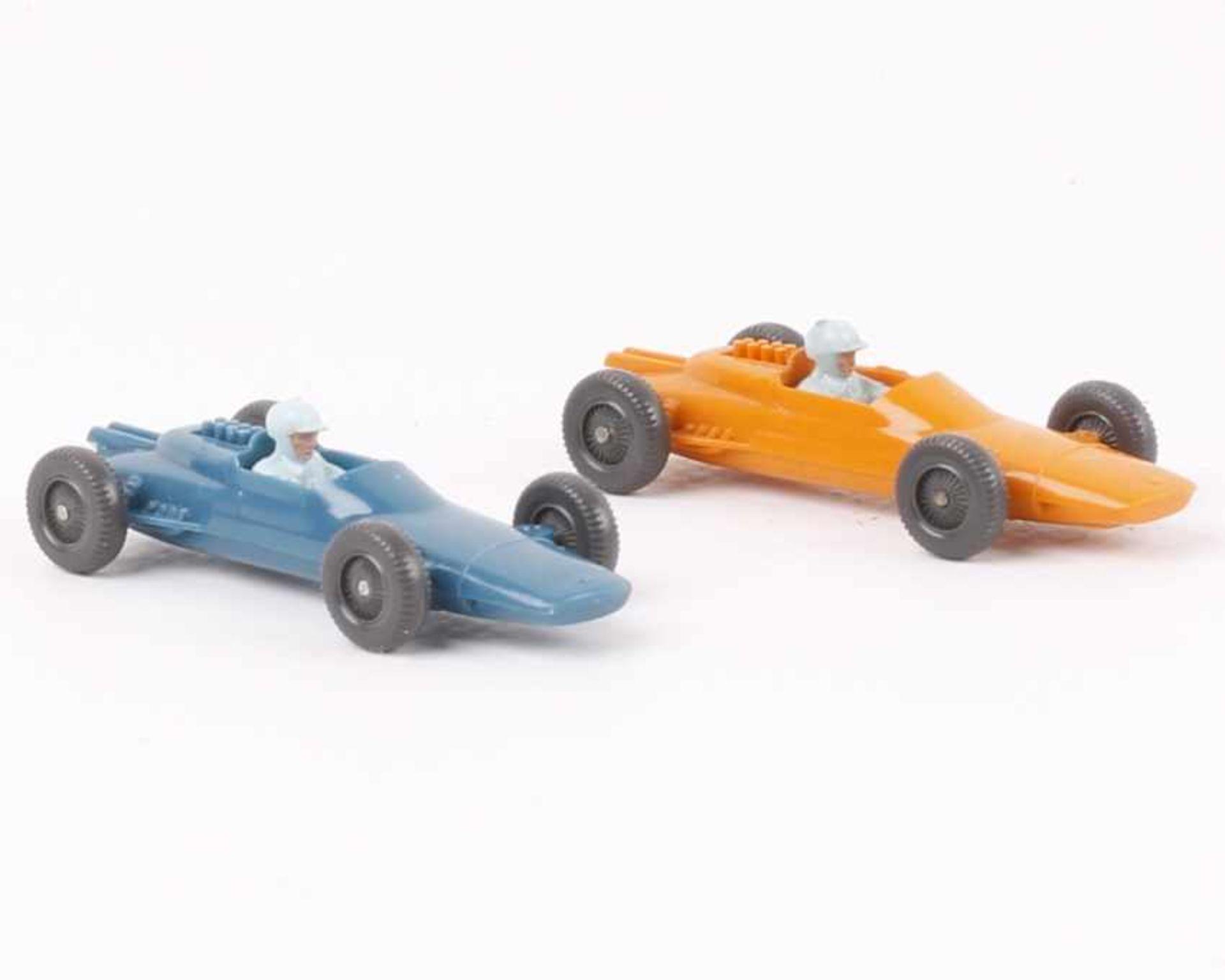 Wiking2 Lotus Rennwagen244/1b, c, jeweils mit blauem Fahrer, neuwertig