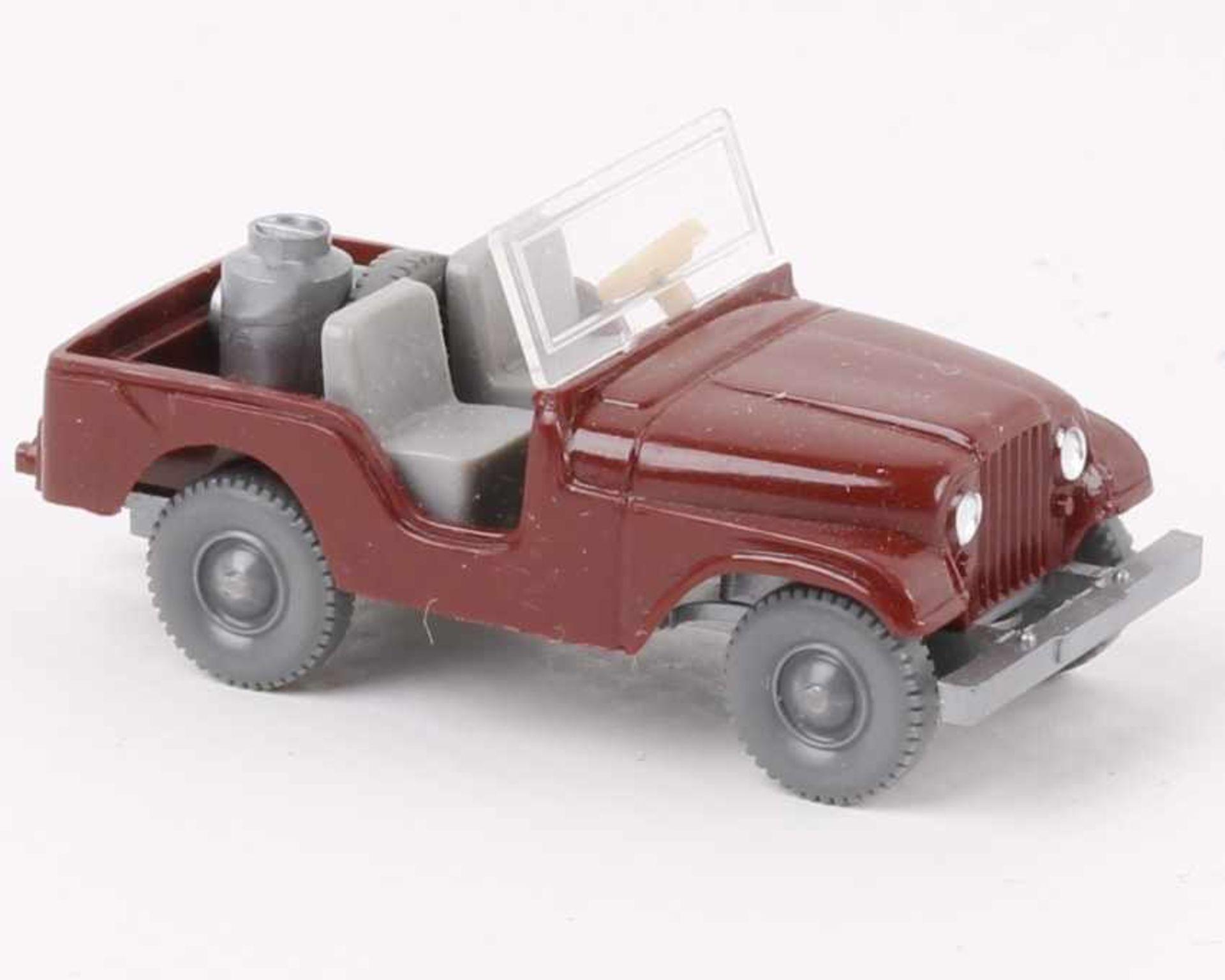 WikingFarmer Jeep braunrot12/2a, neuwertig