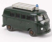 """WikingVW T1 """"Polizei"""" tannengrün1030/3d"""