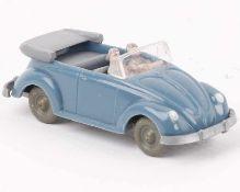 WikingVW Käfer Cabrio m'graublau33/3k, IE staubgrau, sehr gut bis neuwertig