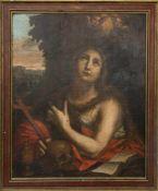 UNBEKANNTER KÜNSTLER, DIE BÜßENDE MARIA MAGDALENA, Öl/Platte, 19 Jh.Die Büßende Maria Magdalena,