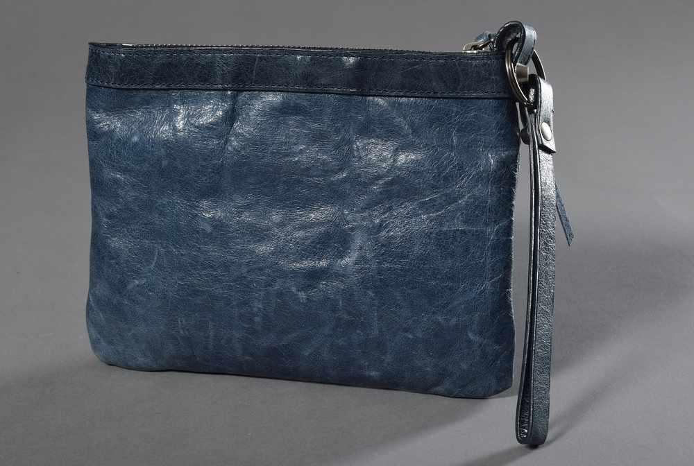 Lot 47 - Kleine Balenciaga Vintage Tasche in mittelblau, Nr. 0180Y115748, 15,5x20cmSmall Balenciaga Vintage