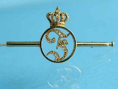 Nadel mit Diamantrosen, Geschenk der Prinzessin Feodora von Sachsen-Meiningen (spätere
