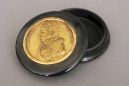 HENRI FRANCOIS BRANDT (1789 La Chaux-de-Fonds - 1845 Berlin) Medaille mit Brustbild Heinrich