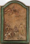 Zugeschrieben GIUSEPPE MARIA MAZZA (1653 Bologna - 1741 ebenda) Stuckrelief ¨Die Geburt der Maria¨