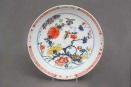MEISSEN Porzellanschüssel des 18. Jahrhundertsrunde Schale mit hochgezogenem Rand, im Spiegel