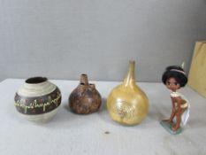 60er Jahre Keramik Design Konvolut sehr guter Zustand von 13-18cm