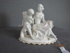 Porzellanfigur Hutschenreuther das Liebespaar ca.21cm hoch