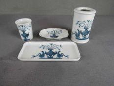Porzellanset Frankreich De Paris Design Lamballe vier Teile- - -20.00 % buyer's premium on the