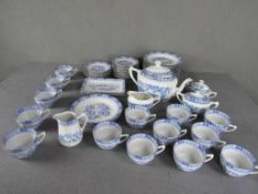 Großes Kaffeeservice China blau Teeservice- - -20.00 % buyer's premium on the hammer price19.00 %