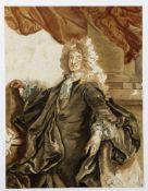 Rigaud, Hyacinthe. 1659 Perpignan - Paris 1743. Zugeschrieben Brustbild des Charles d' Hozier.