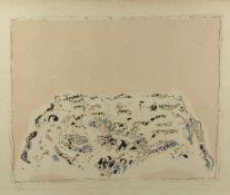 Music, Zoran. 1909 Bukovica - Venedig 2005Abstrakte Komposition. Farblithographie. Sign. und num.