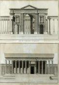 Varin. GuetteArc de Triomphe et Temple du Soleil a Palmyre nach Louis Francois Cassas. 2