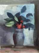 "Palinkas, Heiner (1913 Lehe-2004 Berlin) ""Blumenvase"", Öl/Mp., unsigniert, rücks. WVZ-Nr.24, am"