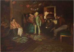 "Meyer-Mainz, Paul (1864 Mainz- 1909 Halberstadt) ""Die Kostümprobe"", Öl/Lw., signiert u.r.,rücks. 5"